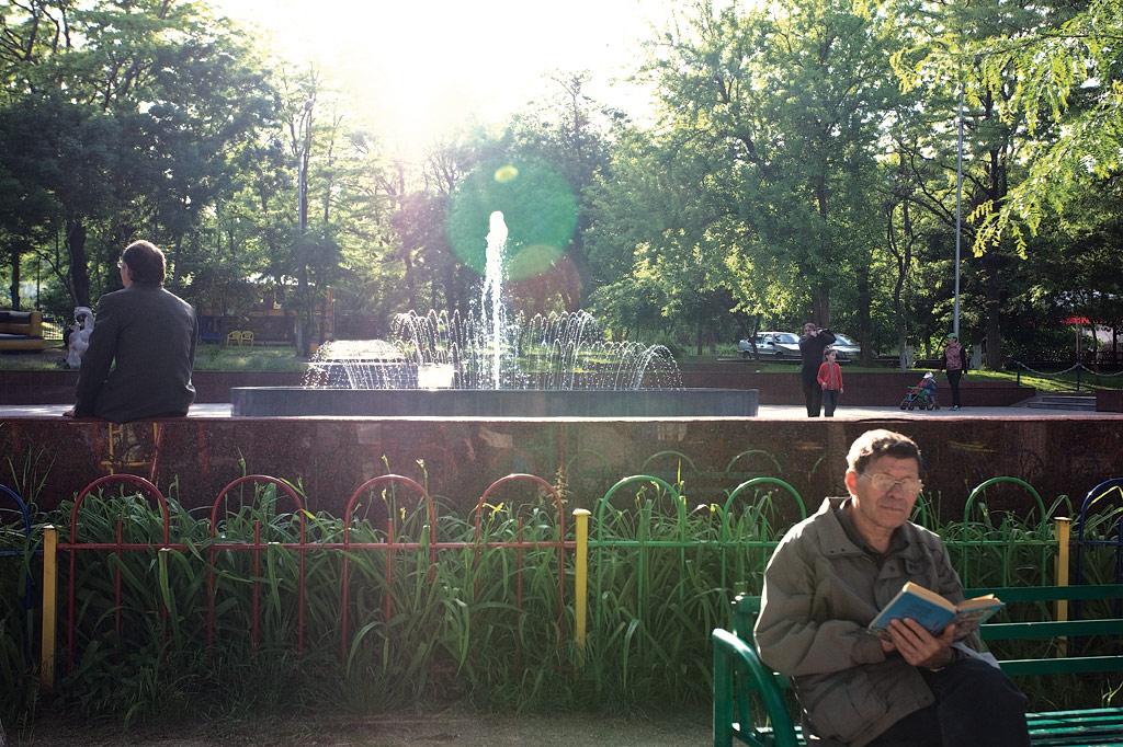 новороссийск. Фонтан в парке Фрунзе