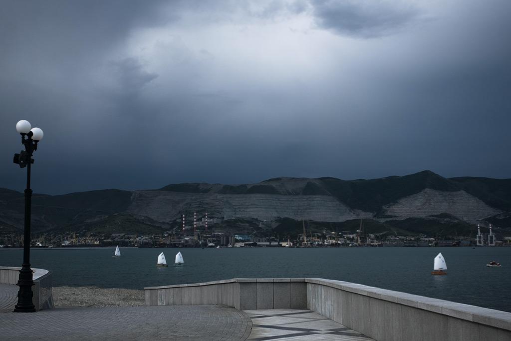Новороссийск. Цемесская бухта. Яхтклуб. Фото Андрей Бондаренко