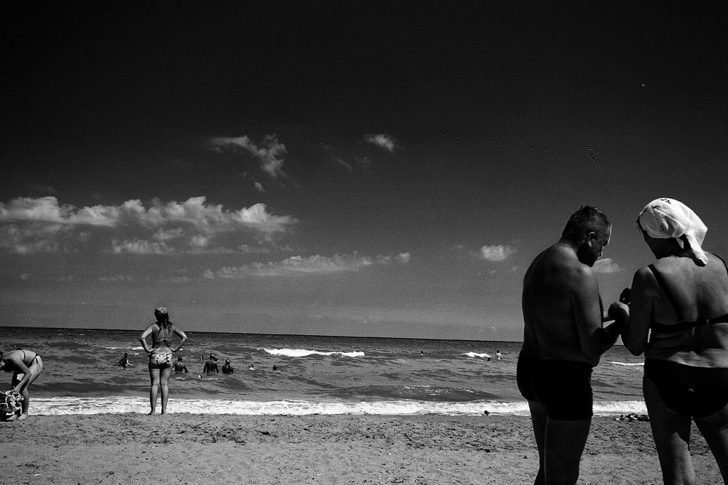 Тамань. Пляж. Фото Андрей Бондаренко