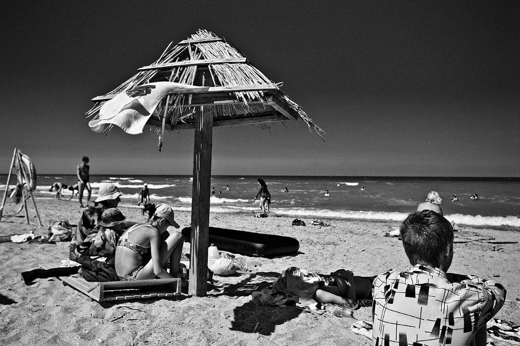 Тамань. Пляж. Фото Андрея Бондаренко
