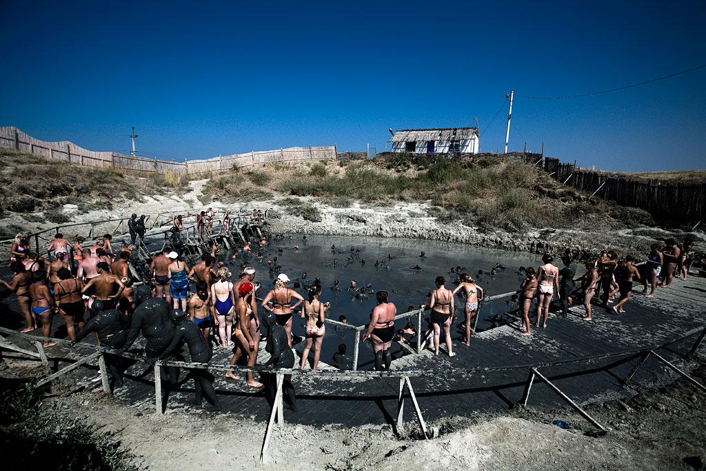 Тамань. Грязевой вулкан. Фото Андрей Бондаренко