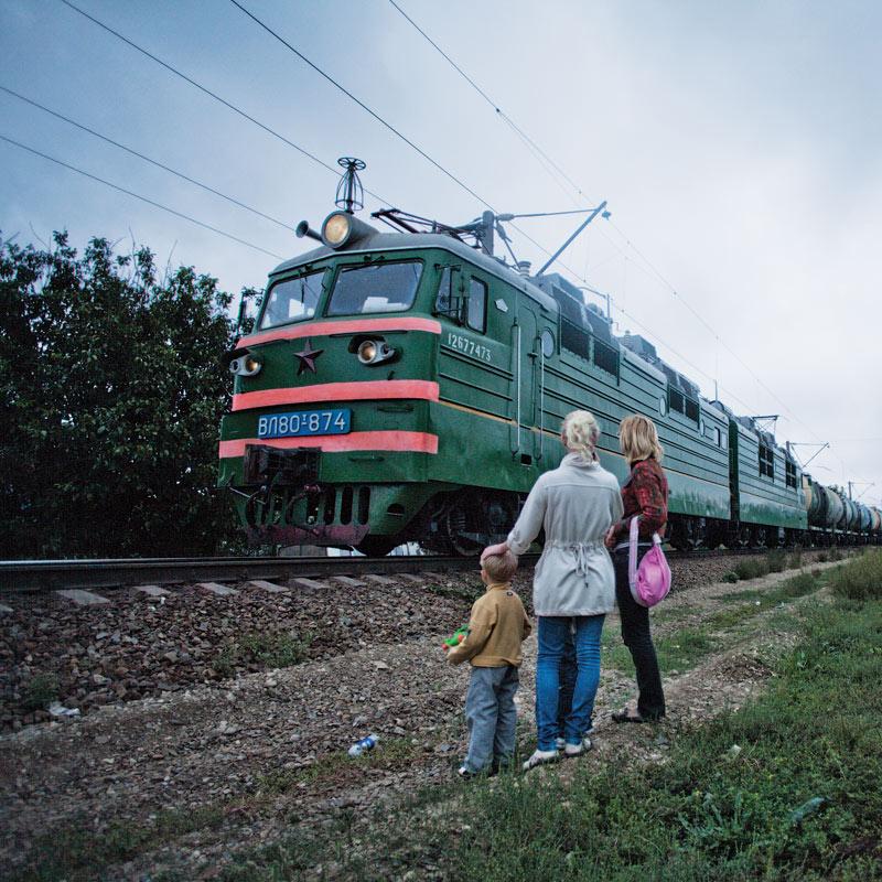 фото Андрей Бондаренко. поезд