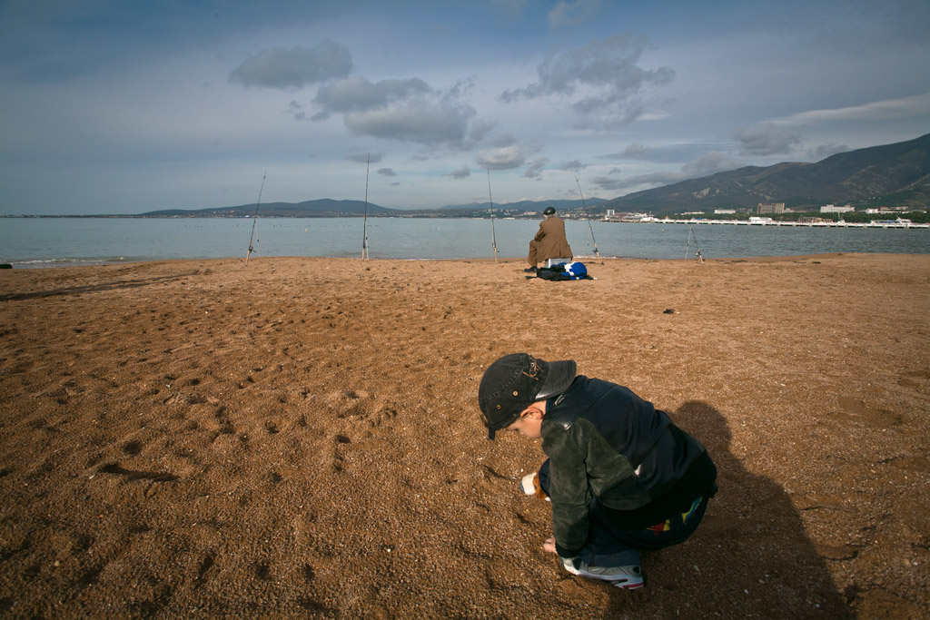 Геленджик. Пляж. фото Андрей Бондаренко