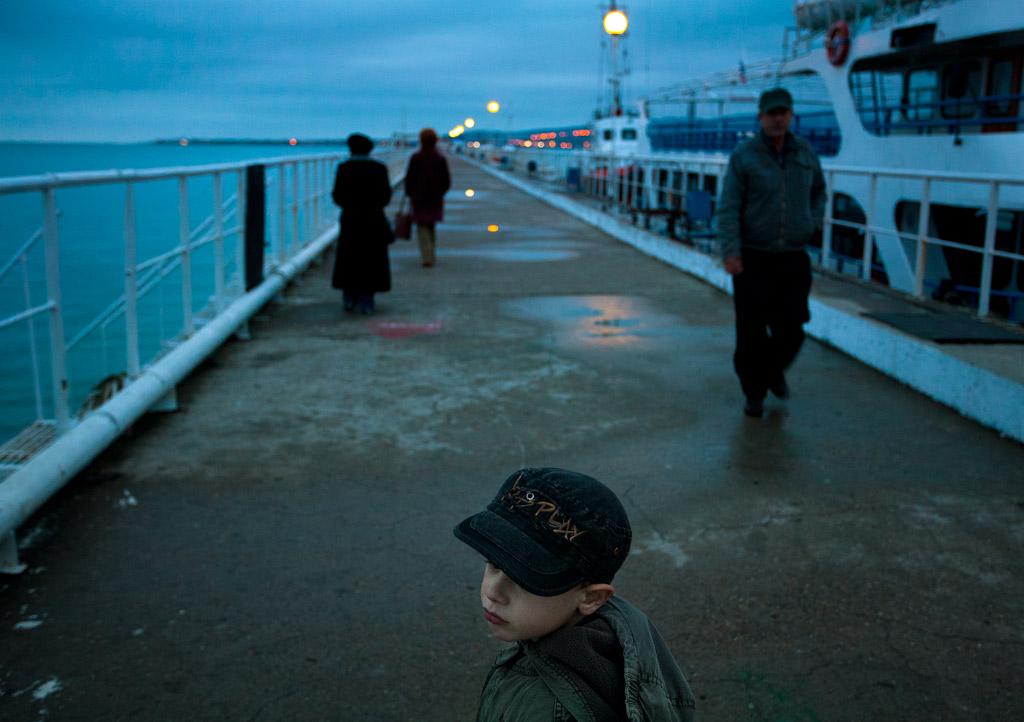 Пассажирский причал. Геленджик. фото Андрей Бондаренко