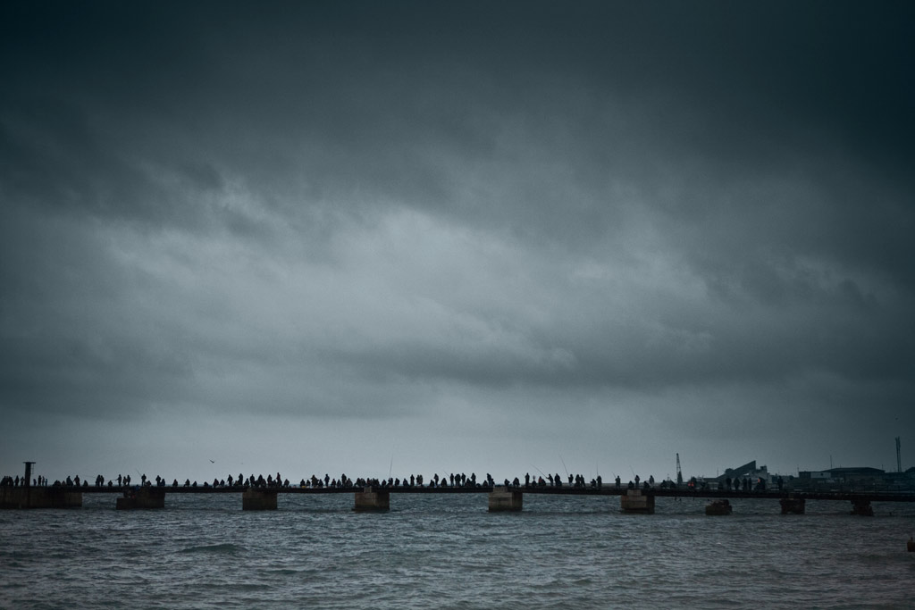 Новороссийск. Рыбзавод. Рыбаки. Фото Андрей Бондаренко