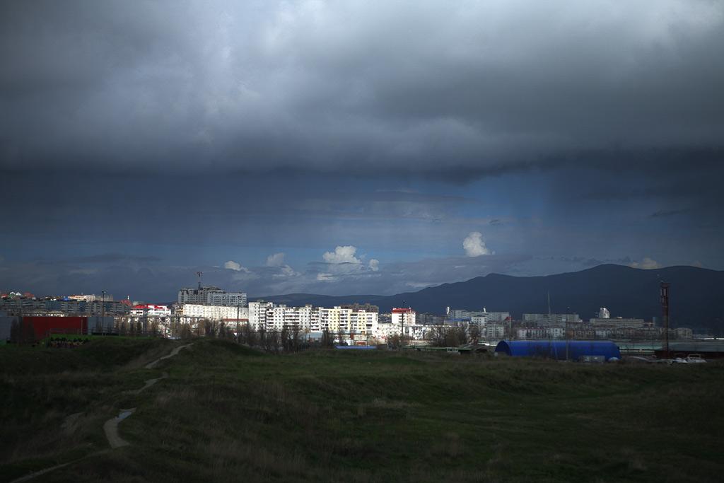 Малая земля и 3 микрорайон Новороссийска. фото андрей Бондаренко