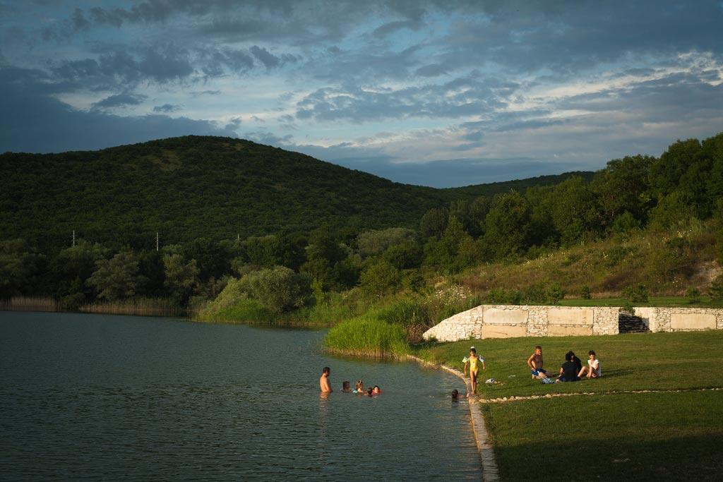 Усадьба Семигорье. Озеро. Фото Андрей Бондаренко