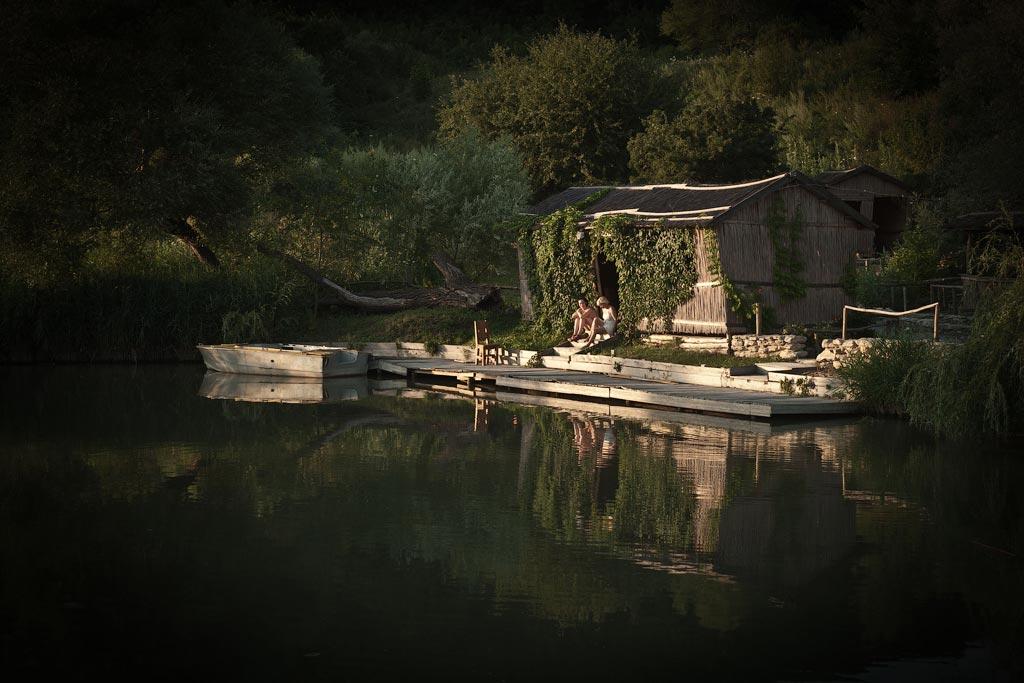 Усадьба Семигорье. Пруд. Ресторан у озера. Фото андрей Бондаренко