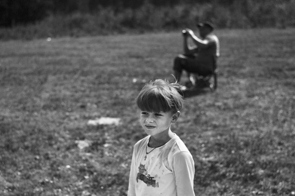 Тёмка на ромашковых полянах возле ст. Шапсугской