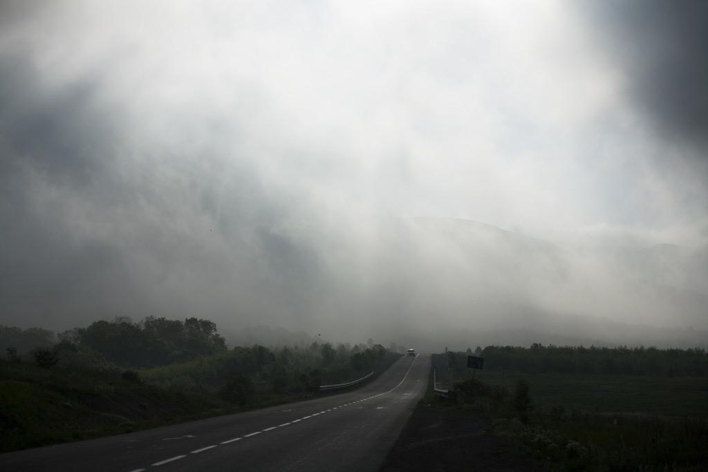 Южная Озерейка. Дорога. Фото Андрей бондаренко