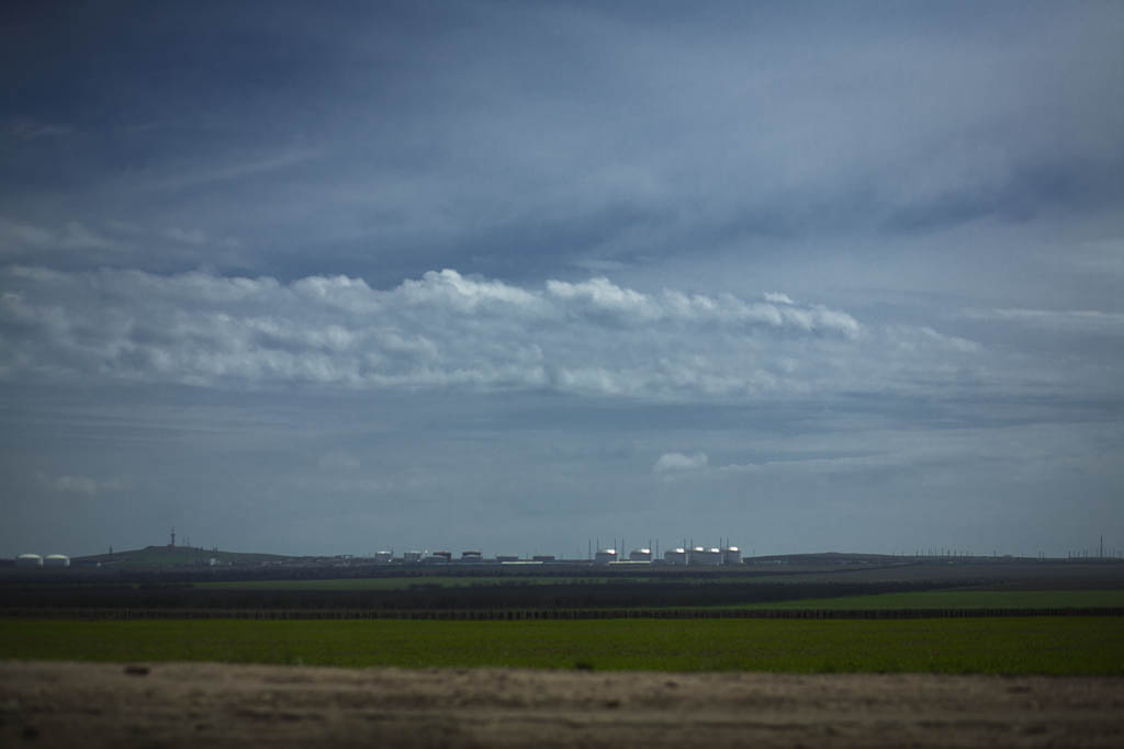 Тамань. Терминал. Фото Андрей Бондаренко