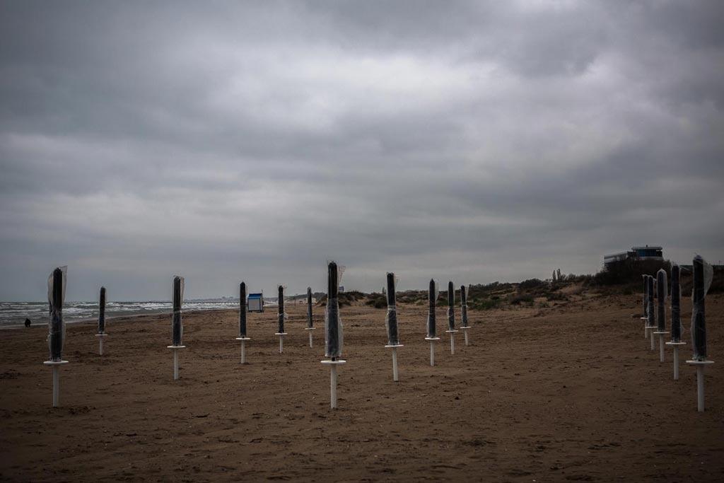 Весенний анапский пляж. фото Андрей Бондаренко