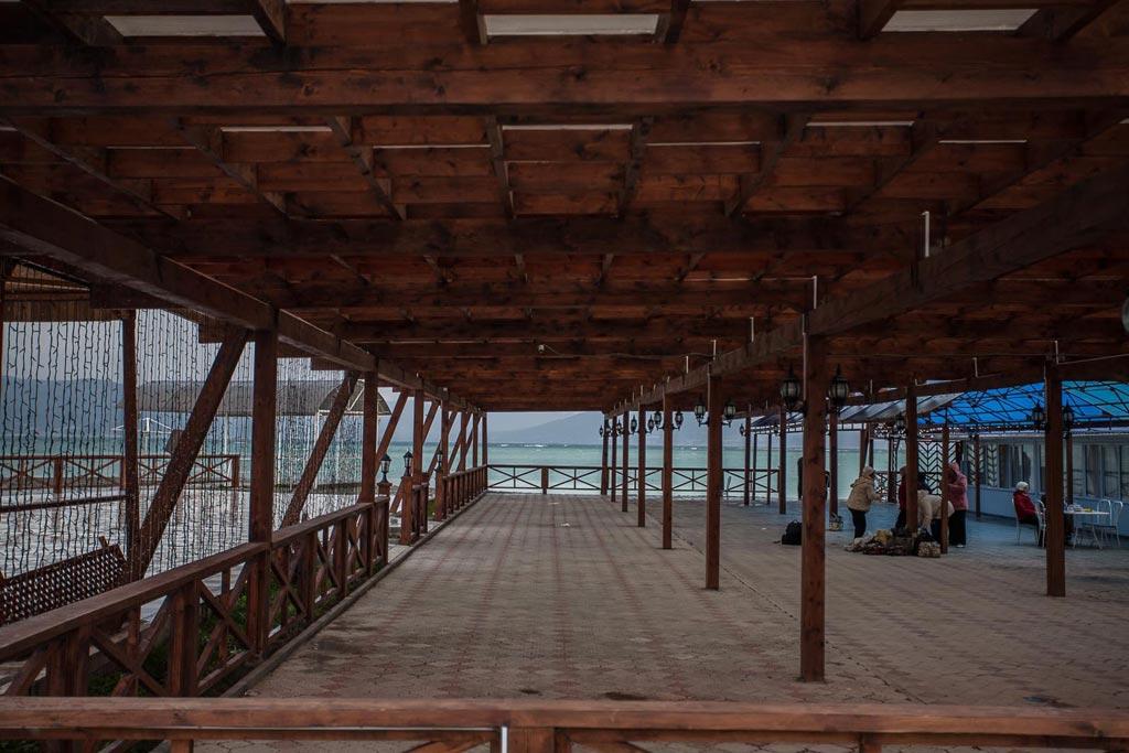 Новороссийск. Пляж Суджукская Коса фото Андрей Бондаренко
