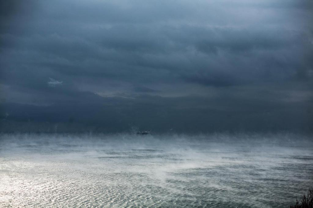Черное море в январе. Фото Андрей Бондаренко
