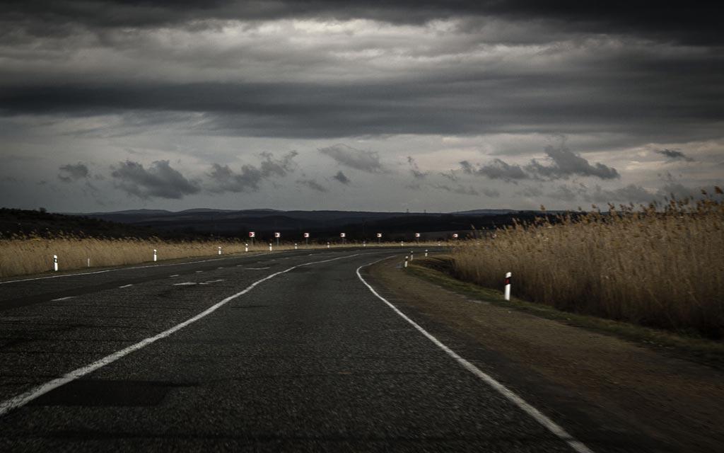 Дорога в плавнях. фото Андрей Бондаренко